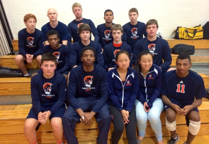 Boys Varsity Volleyball 2014 T-Shirt Photo