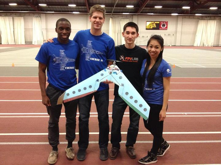 Mit Unified Engineering Flight Competition T-Shirt Photo