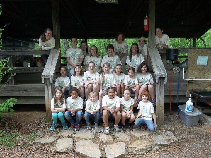 Fun At Girl Scout Camp T-Shirt Photo
