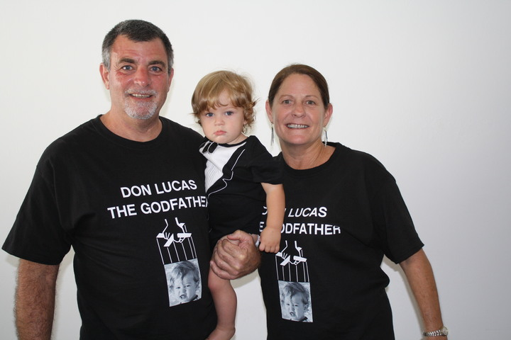 Don Lucas The Godfather T-Shirt Photo