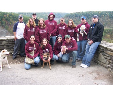 Team Black Rose... Great Strides For Cystic Fibrosis T-Shirt Photo