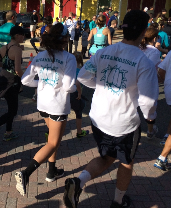 Fighting Ovarian Cancer    Un Teal There Is A Cure  T-Shirt Photo