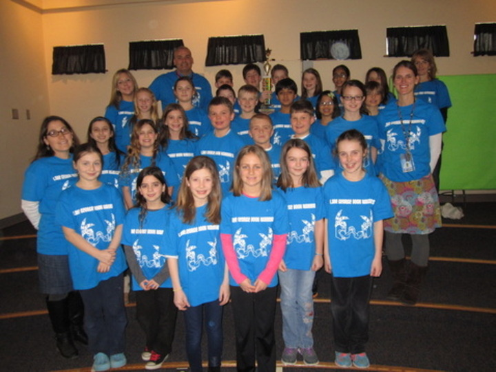 Lake George Battle Of The Books Teams 2014 T-Shirt Photo