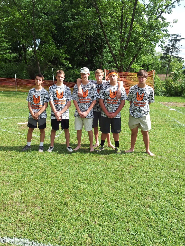 Wiffle Ball Jerseys 'backyard Ballers'  T-Shirt Photo