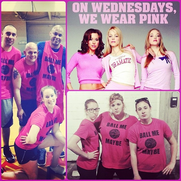 On Wednesdays, We Wear Pink. T-Shirt Photo
