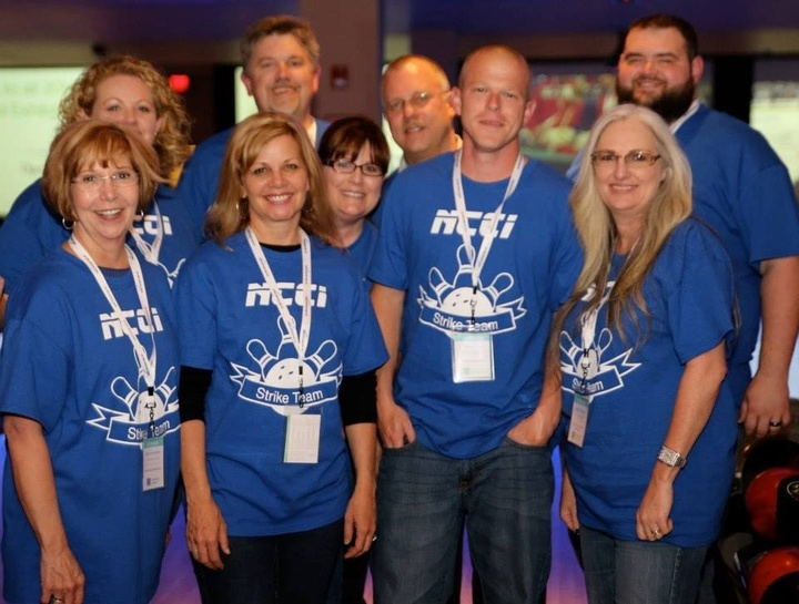 Ncci Bowling Team At Akc Conference T-Shirt Photo