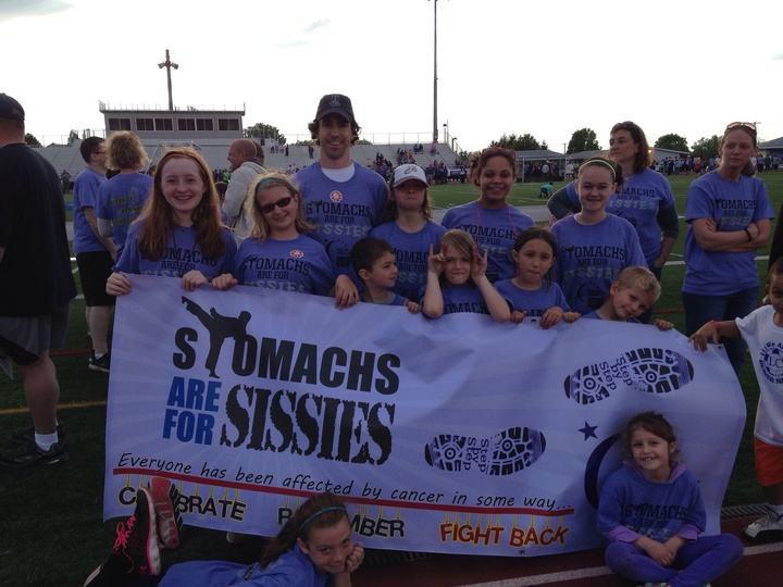 Stomachs Are For Sissies, Relay For Life Lebanon Co., 2014 T-Shirt Photo