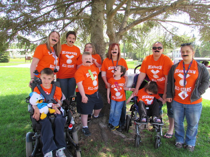 Special Olympics 2014  Meadowview All Stars! T-Shirt Photo