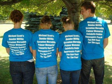 Fun Run Race For The Cure T-Shirt Photo