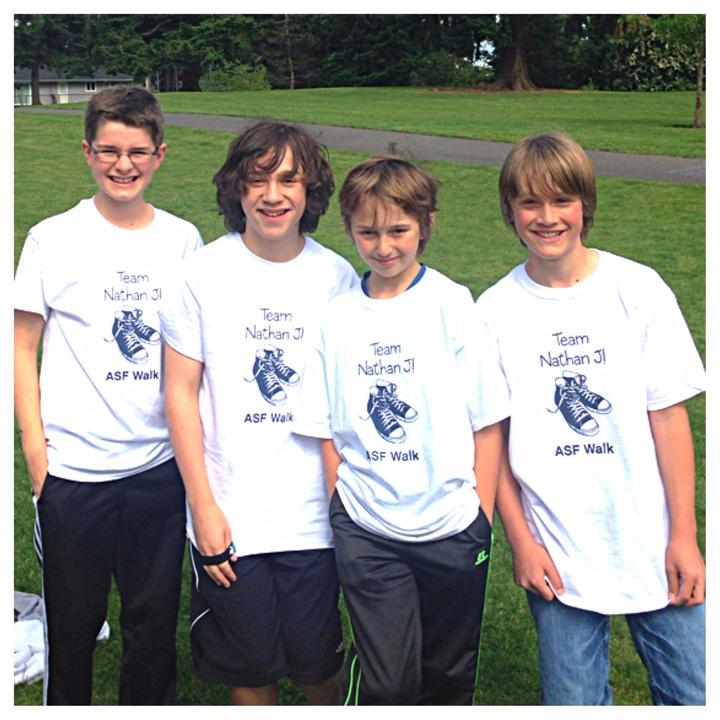 Team Nathan J! T-Shirt Photo