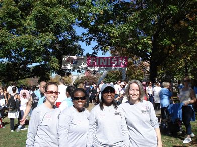 Glm Supports Making Strides Against Breast Cancer T-Shirt Photo