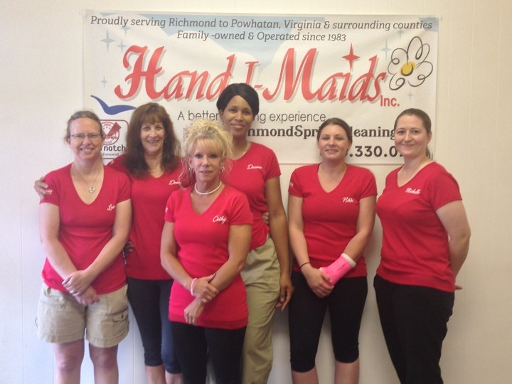 Hand I Maids, Inc.  Master Cleaning Associates T-Shirt Photo