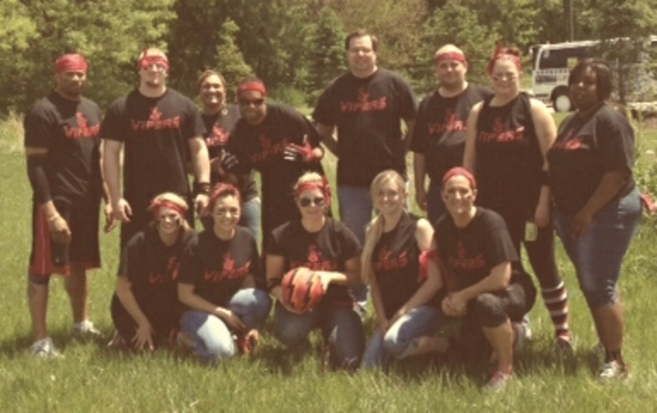 Varian's Vipers Kickball Team T-Shirt Photo