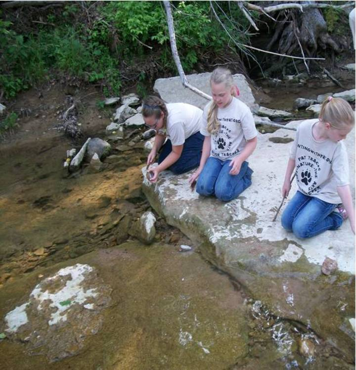 Junior Trackers Learning About Nature Through The Arts! T-Shirt Photo