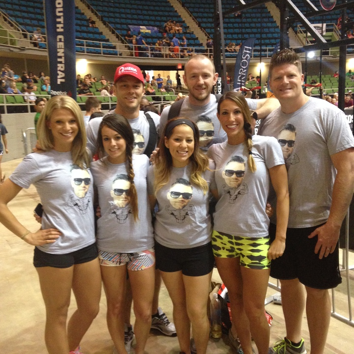 Supporting Brett Blair At Crossfit Regionals!! T-Shirt Photo