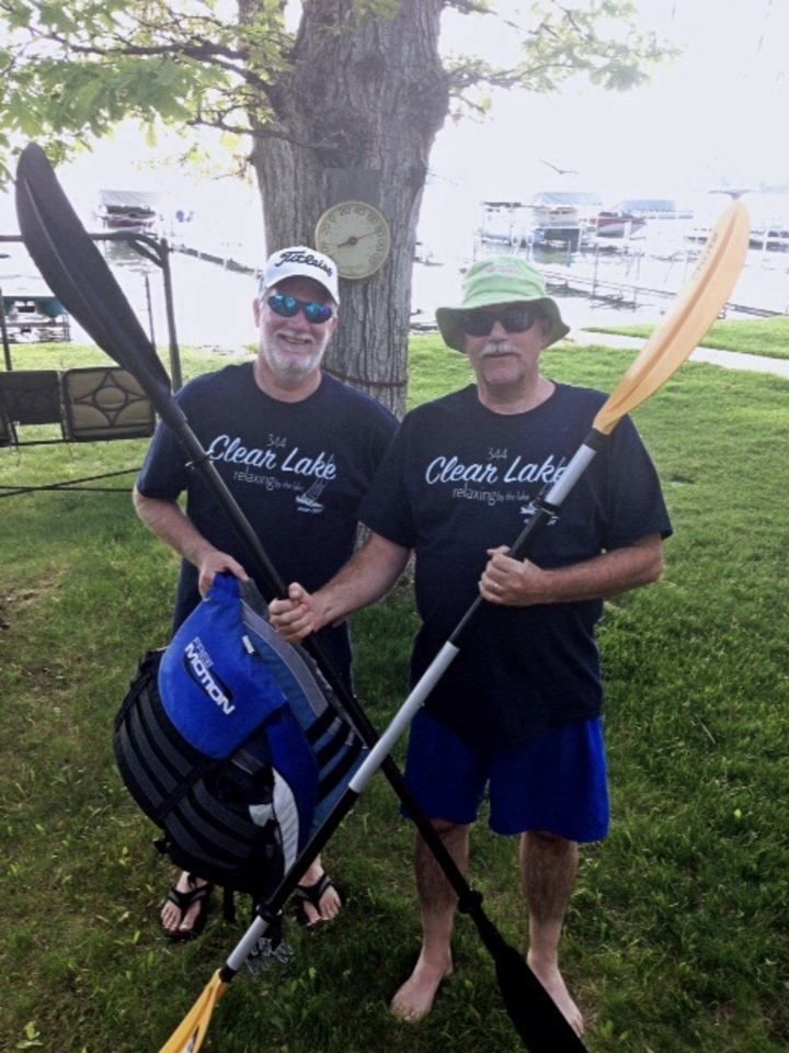 Kayaking Bros T-Shirt Photo