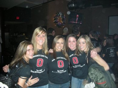 Iowa To Ohio State Transfer Bar Crawl T-Shirt Photo