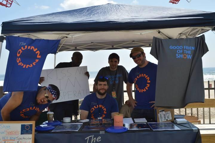 The Quinn Spinn At The Jersey Shore Festival T-Shirt Photo