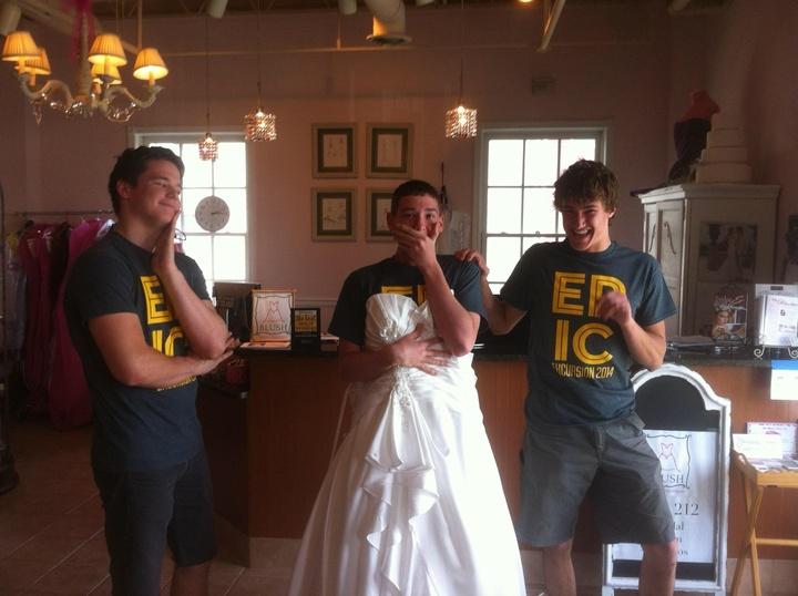 An Epic Proposal T-Shirt Photo