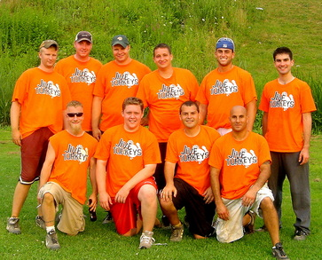 Jive Turkeys Softball T-Shirt Photo