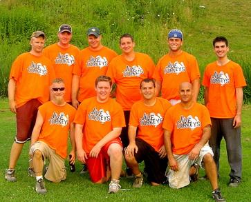Jive Turkeys Softball T-Shirt Photo