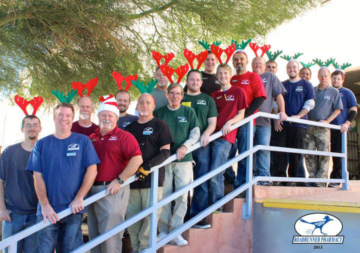 Happy Roadrunner Reindeer T-Shirt Photo