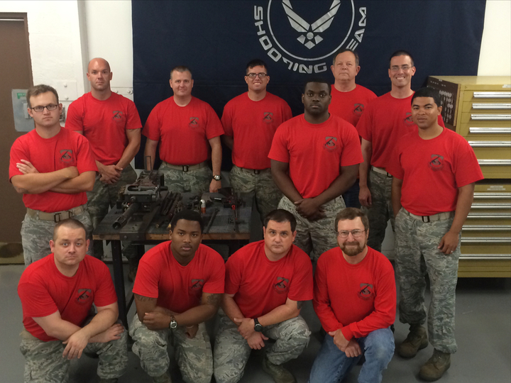 Usaf Gunsmith Shop T-Shirt Photo