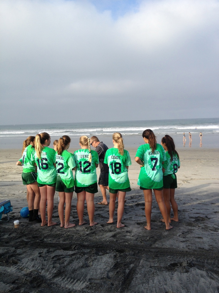 Rsf Attack Girls Beach Soccer T-Shirt Photo