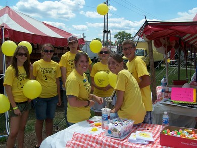 Smoke Free Kids Day At The Johnson County Fair T-Shirt Photo