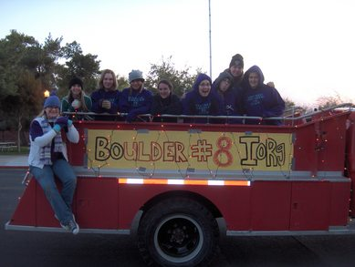 Boulder #8 In The Christmas Parade T-Shirt Photo