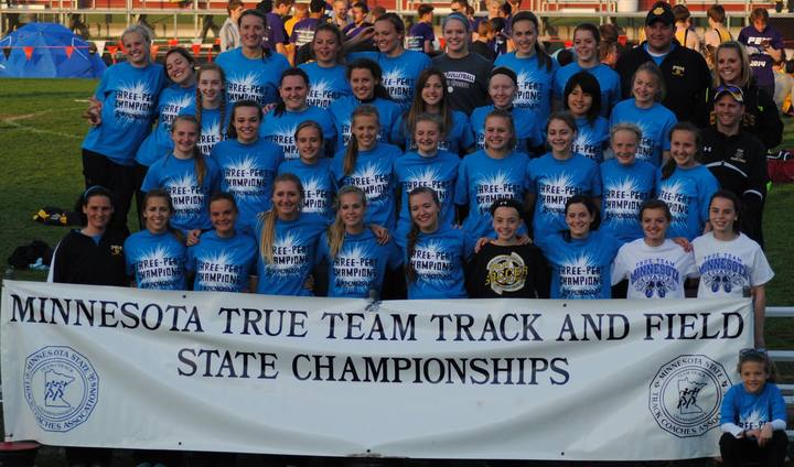Pem Mn True Team State Track & Field 2014 T-Shirt Photo