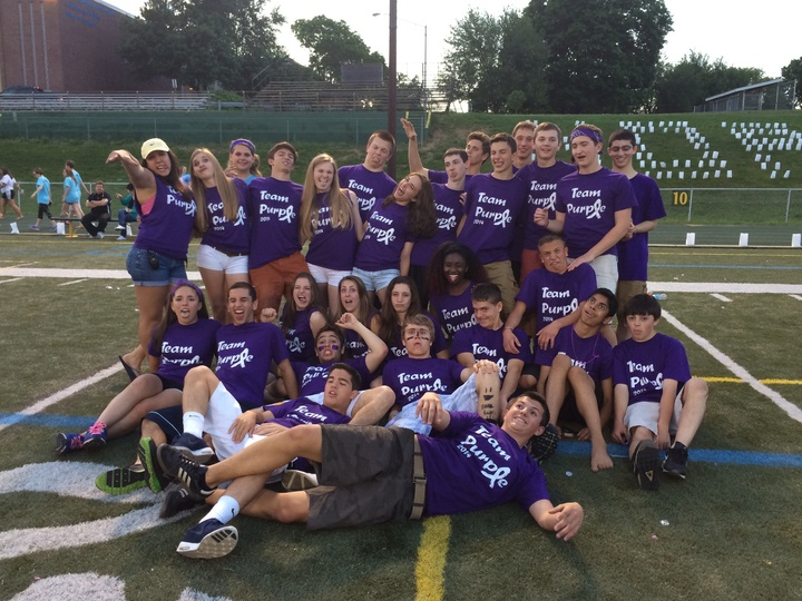 Team Purple T-Shirt Photo