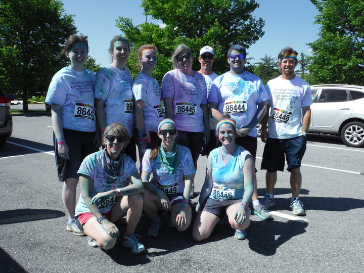 Forced Family Fun Color Run T-Shirt Photo