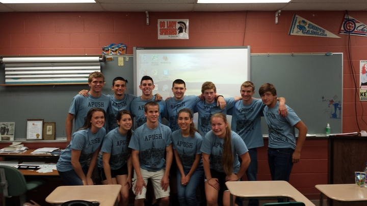 Ap U.S. History Superstars T-Shirt Photo
