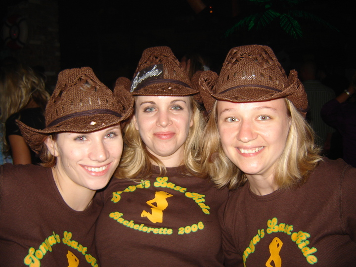 Tonya's Bachelorette Party T-Shirt Photo