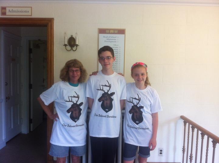 Our Beloved Bernadette T-Shirt Photo