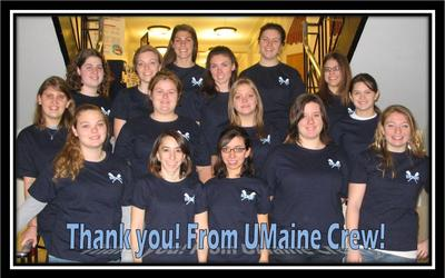 U Maine Crew T-Shirt Photo