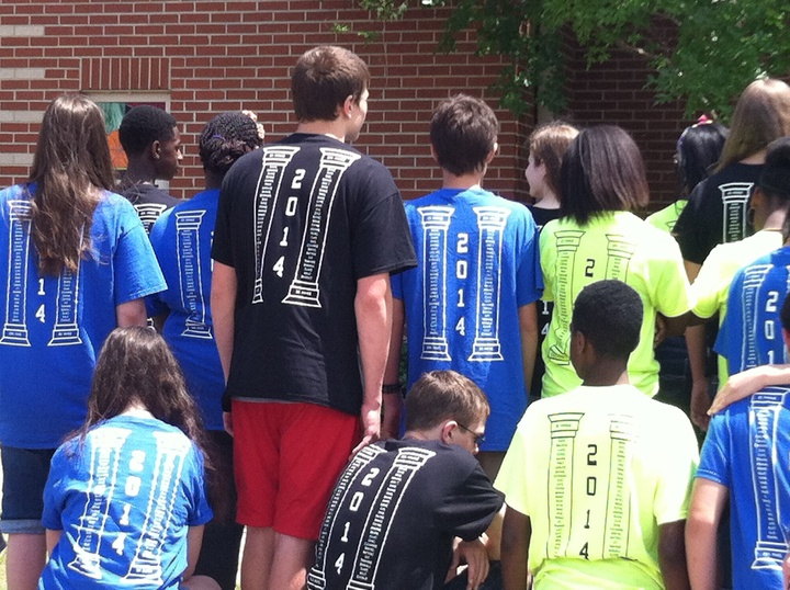 Two Academies 8th Grade Class T-Shirt Photo