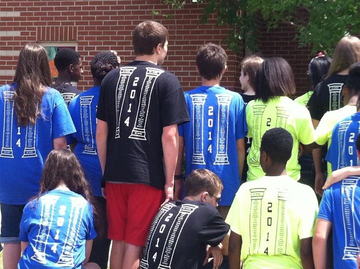 Two Academies 8th Grade Class T-Shirt Photo