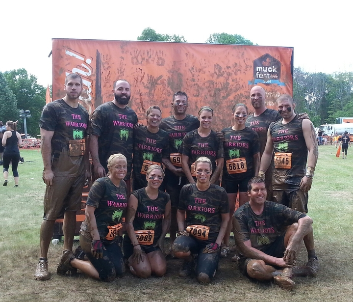 The Warriors Muckfest Ms Philadelphia T-Shirt Photo