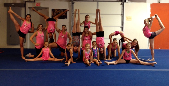 Gymnastics Fun! T-Shirt Photo