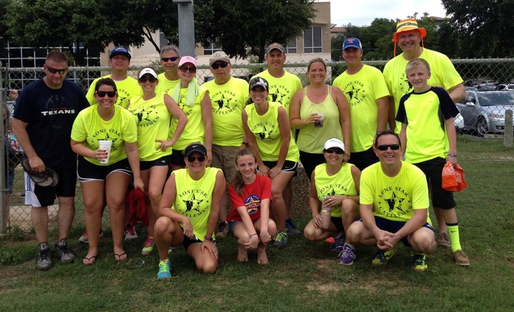 Lone Star Cattlemen Up Side Of Down Kickball Tourney T-Shirt Photo