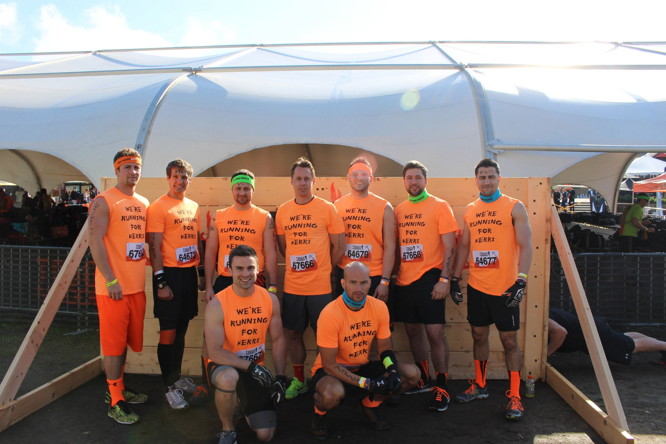 how to find your tough mudder photos