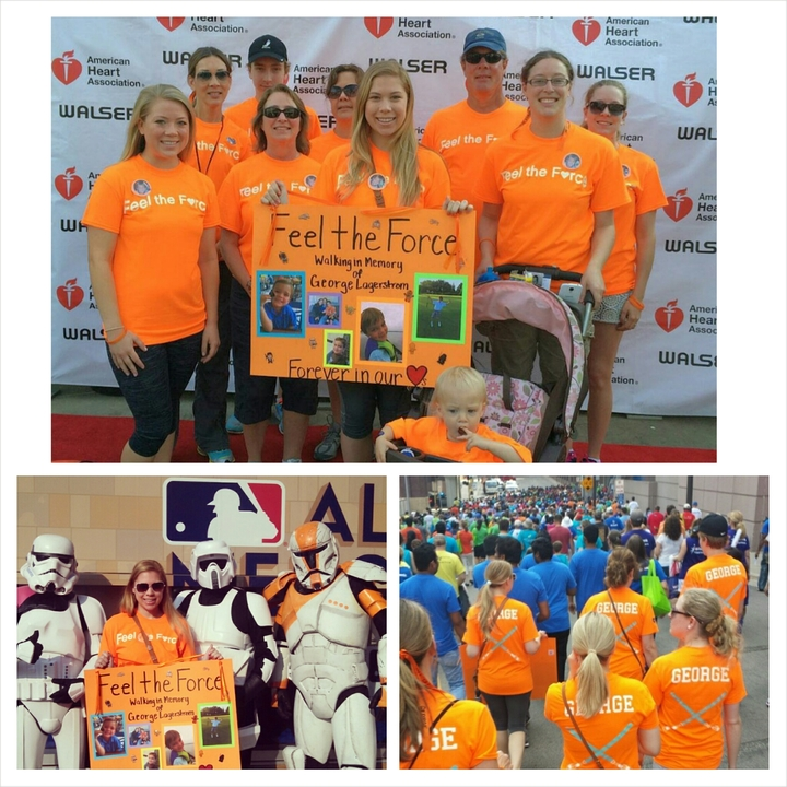 Feel The Force At Twin Cities Heart Walk T-Shirt Photo