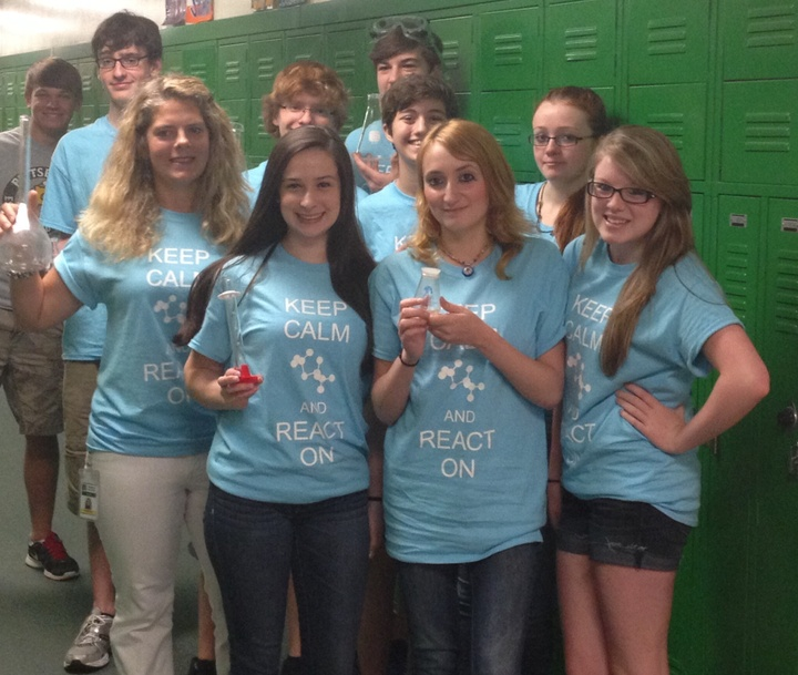 Blackhawk Ap Chem '13 '14 T-Shirt Photo