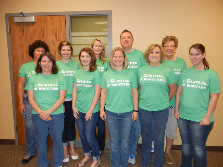 I Survived Hr Bootcamp! T-Shirt Photo