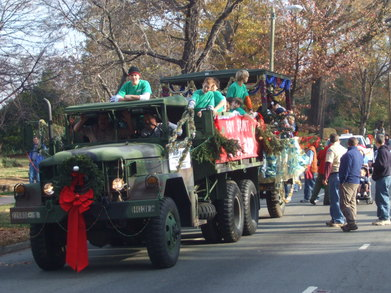 Troop 835 In Chapel Hill Christmas Parade T-Shirt Photo