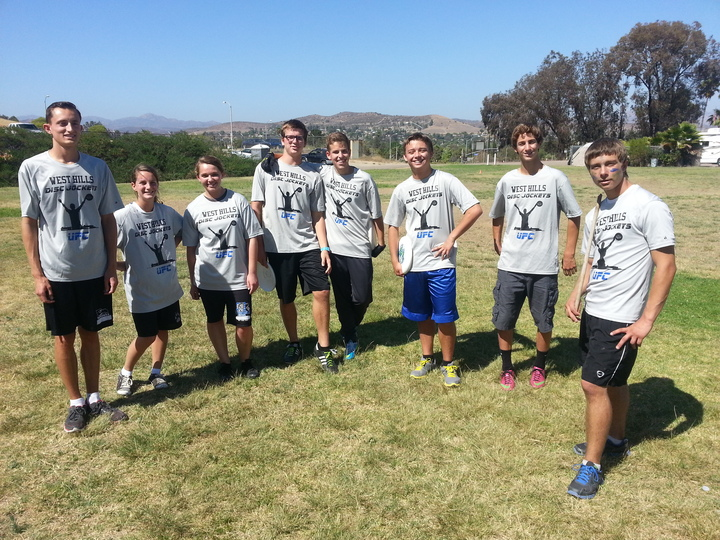 Frisbee Practice!  T-Shirt Photo