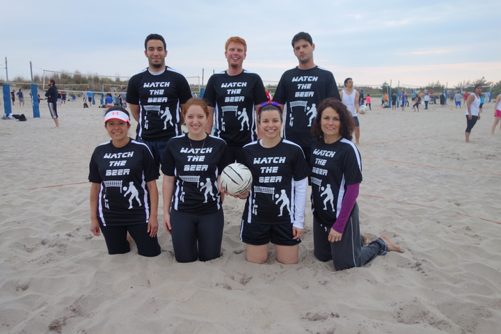 Watch The Beer Volleyball Team T-Shirt Photo