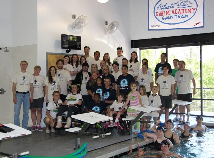 Atlanta Swim Academy's Swim A Thon For Sunshine On A Ranney Day T-Shirt Photo